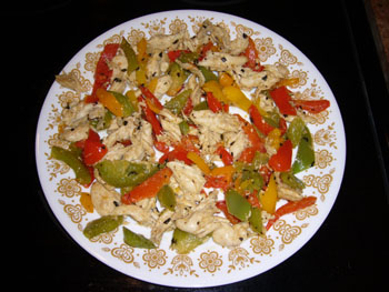 Chicken and Bell Peppers